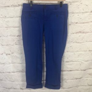 NWOT Anthro heihei Crop Lightweight Pants Sz 8
